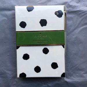 Kate Spade Spotty Dot Loose Note Holder With Pen.